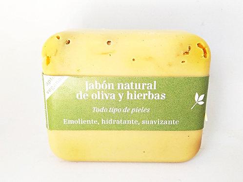 Jabón natural de Oliva y Hierbas
