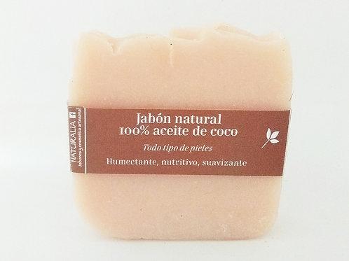 Jabón natural de Coco y Leche de Coco