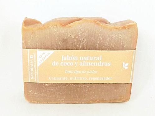 Jabón natural de Coco y Almendras