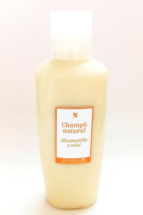 Champú de Manzanilla y miel