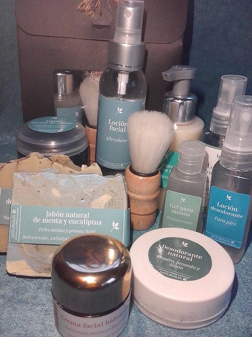 Set completo de higiene y cuidado