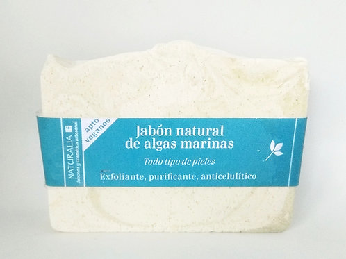 Jabón natural de Algas Marinas y Sal