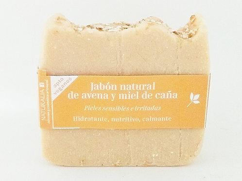 Jabón natural de Avena y Miel de Caña