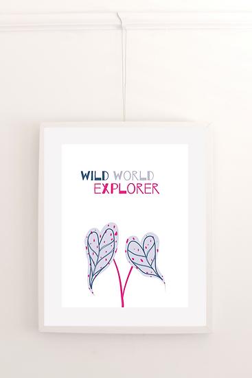 Wild World Explorer - Poster