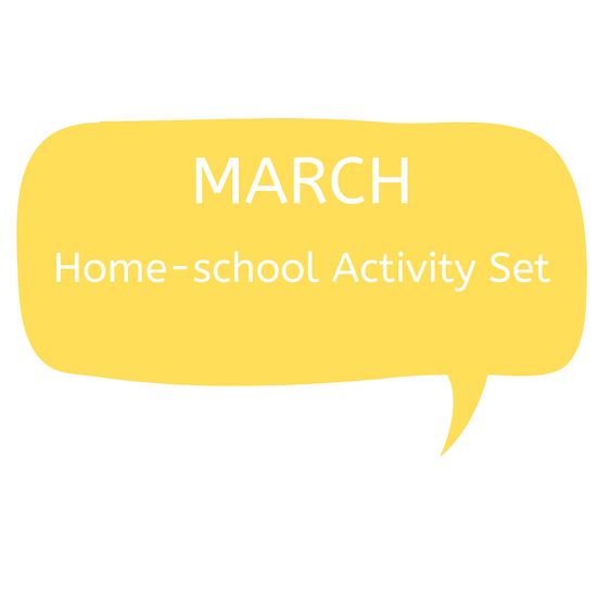 MARCH Home-school Printed Activity Pack