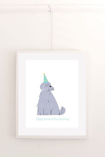 Happiness is the journey - Poster