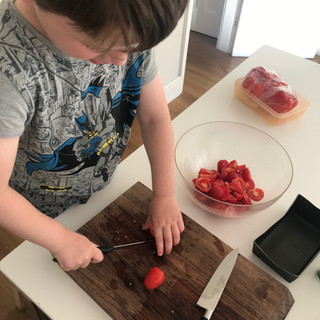 Mindful cooking and eating!