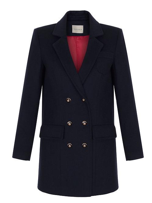 Черное пальто Initials