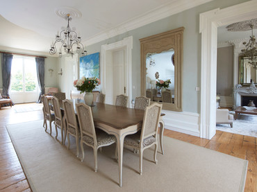 Immaculate Chateau Dining