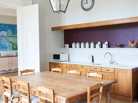 Immaculate Chateau Kitchen