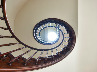 Immaculate Chateau Staircase