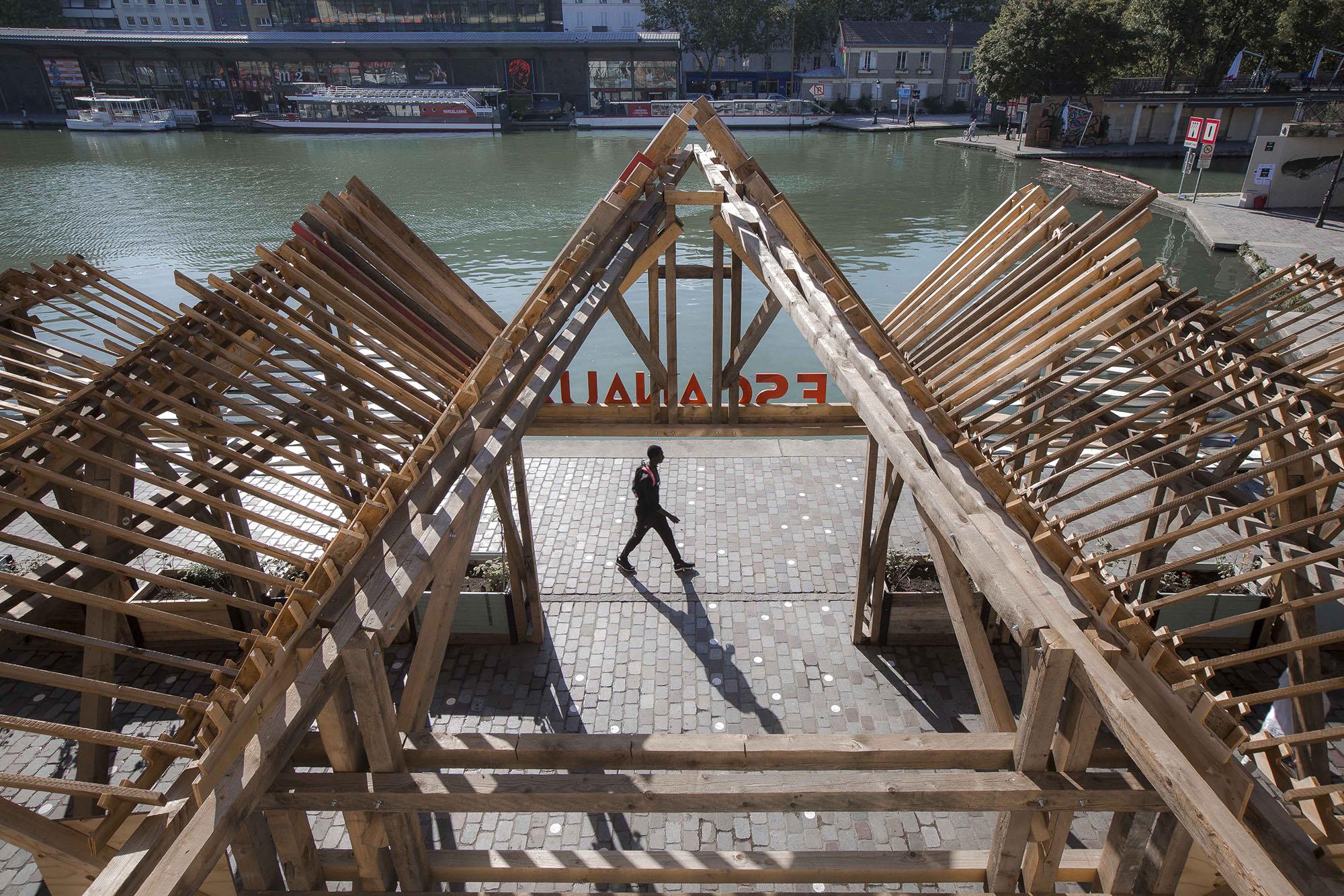 Paris Les canaux