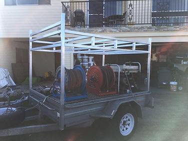 aluminium racks for roof restoration company.jpg