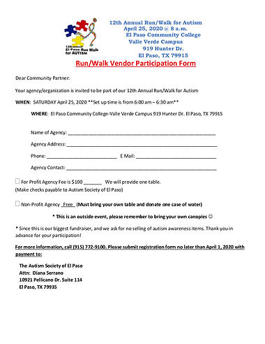 2020 12th Autism Run-Walk Vendor Form.jp