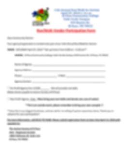 2019 11th Autism Run-Walk Vendor Form (1