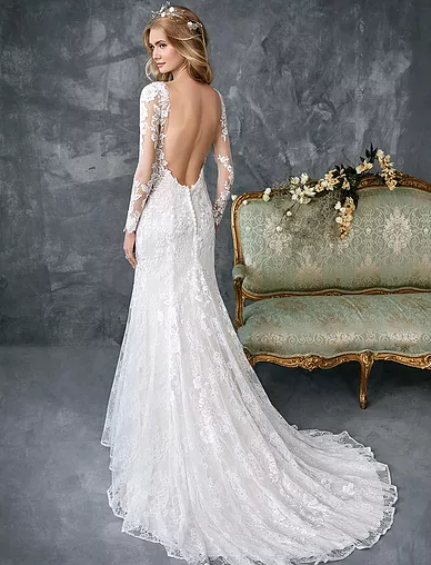 See all dresses with Court train lengths