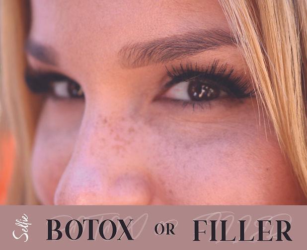selfie botox or filler