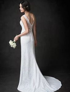 See our dresses with Sweep length trains