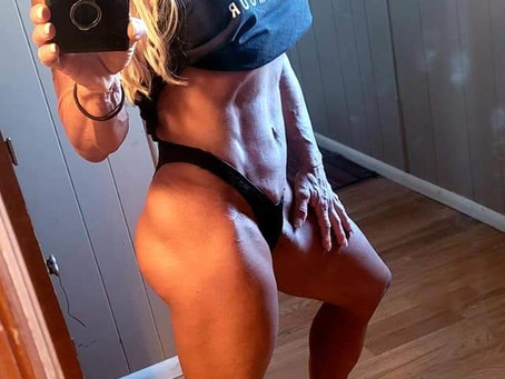 9 Weeks Out From Wings of Strength Comp