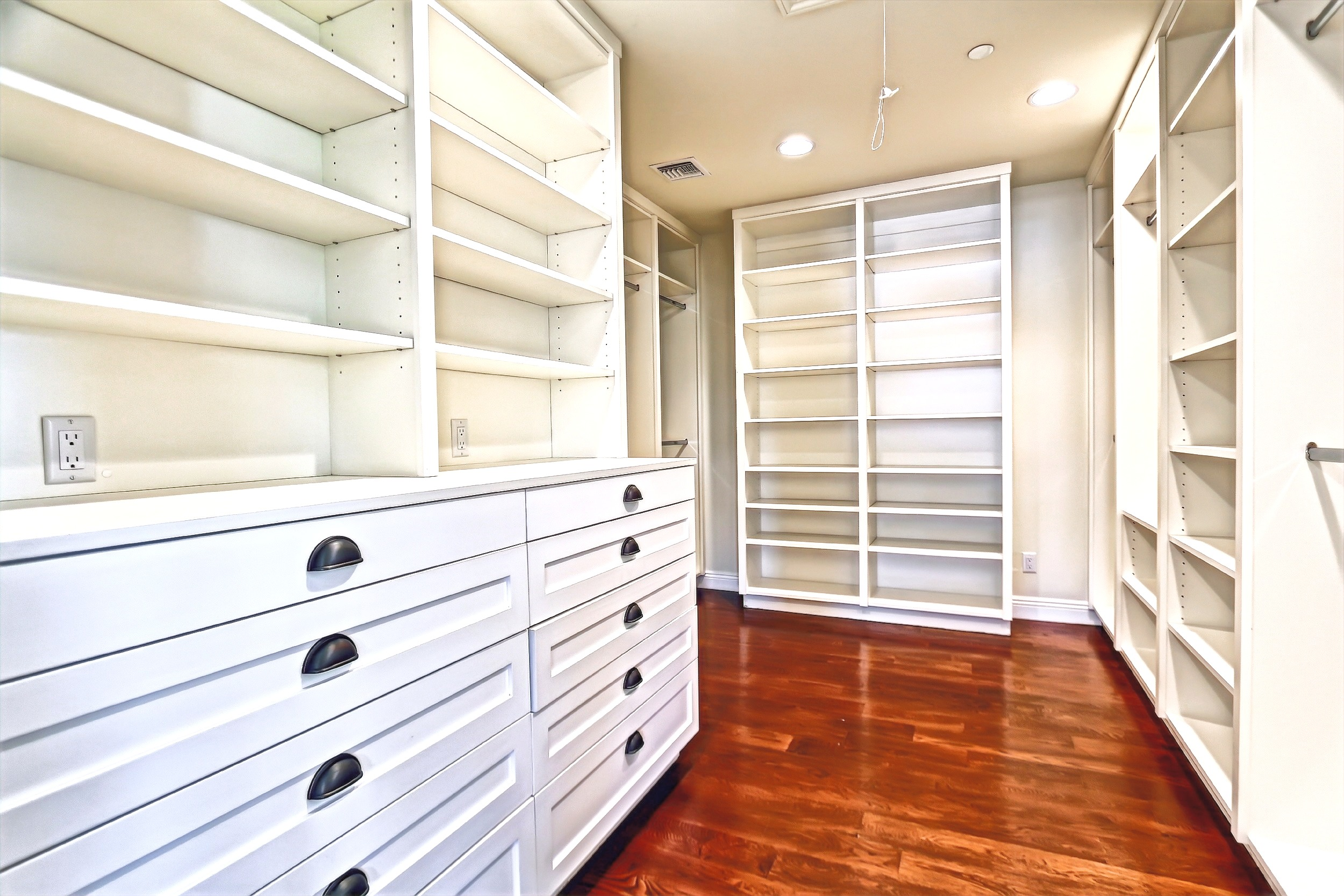 Traditional Master Closet