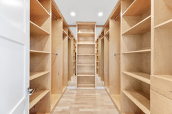 Contemporary Master Closet