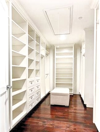 Transitional Master Closet