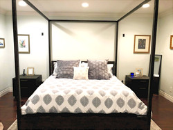 Redecorated Master Bedroom
