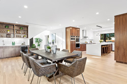 Contemporary Dining/Kitchen