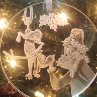 Grinch & Max Ornament