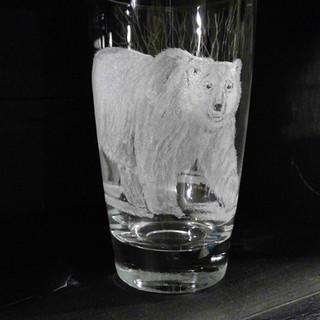 Polar Bear Drink/beer glass