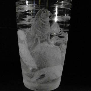 Seals drink/beer glass