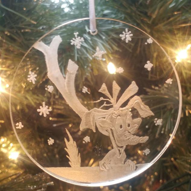 Grinch's Max Ornament