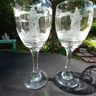 Wine glass consignment
