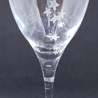 starfish tumble wineglass