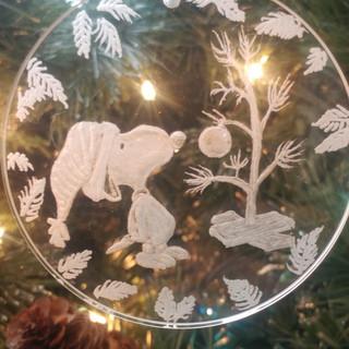 Snoopy Christmas Ornament