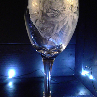 Gollum Wineglass