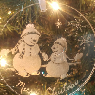 Snowmen Ornament
