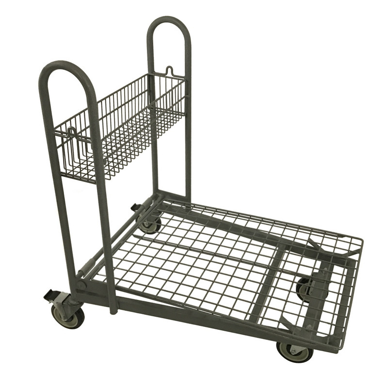 KNS2436FCRS Flat Metal Cart Rear Swivel.
