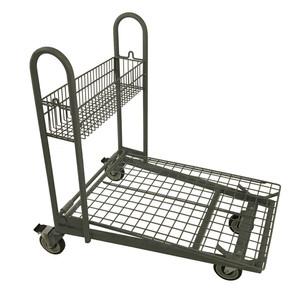 KNS2436FCRS Flat Metal Cart Rear Swivel.
