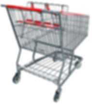 Shopping cart after remanufactured