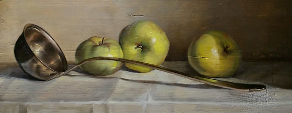 Mestolo e mele / Ladle and apples