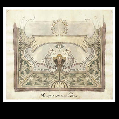 """Print of """"Liberty ceiling"""""""