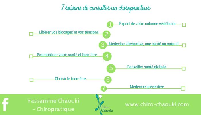 7 Bonnes Raisons De Consulter Un Chiropracteur