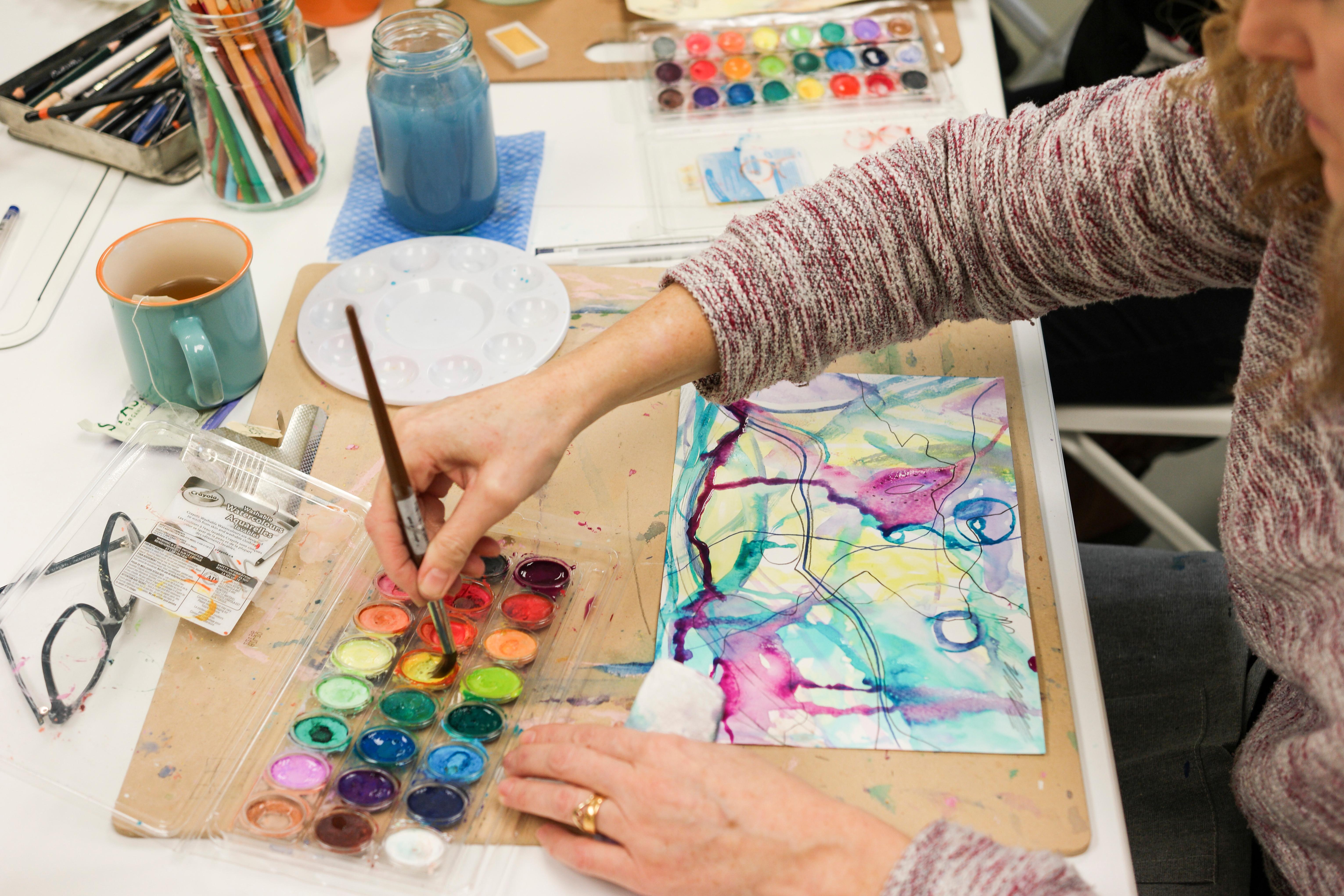 Moondalas: Art as Therapy Workshop