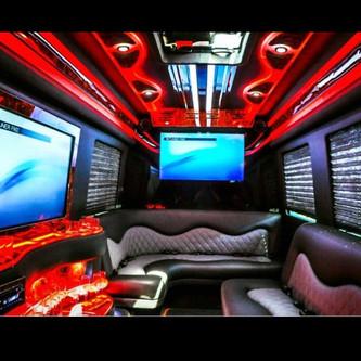 Interior Mercedes-Benz Party Bus