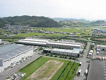 Завод по производству бензокос, кусторезов, триммерных насадок и дисков для бензокос Caiman в Японии, Okayama