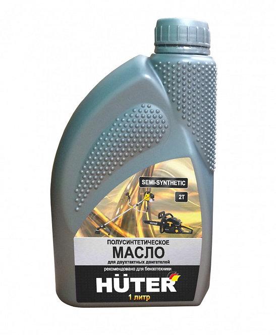Масло 2-тактное Huter полусинтетическое (1л)