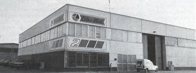 Завод по производству техники Oleo-Mac. Италия 1977 год