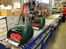 Завод по производству барабанных газонокосилок Caiman в Великобритании, Hixon