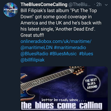 Blues Come Calling